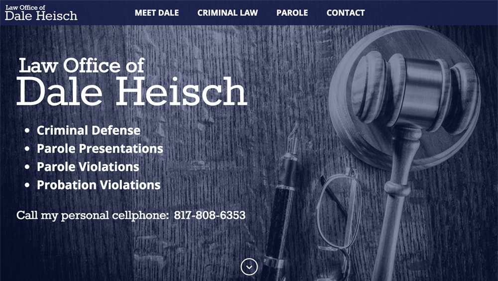 "Law Office of Dale Heisch | <a href=""http://www.heischlaw.com/"" target=""_blank"">www.heischlaw.com/</a>"